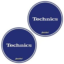 Slipmats Technics DMC Speedmat Blue / Blau (1 Paar / 1 Pair) MBSPEED NEU+OVP!