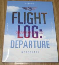 GOT7 FLIGHT LOG: DEPARTURE GOT7 MONOGRAPH L.E PHOTOBOOK + DVD + POSTCARD SET NEW