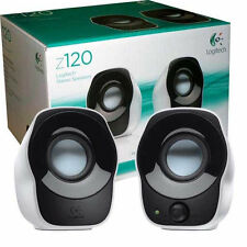 Logitech Stereo Speakers Z120-for Laptop & Desktops