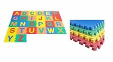 LARGE 26PCS ALPHABET PLAY MAT BABY KIDS SOFT EVA FOAM JIGSAW PUZZLE FLOOR MATEVA