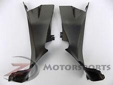 Ducati 899 959 1199 1299 Upper Dash Air Cover Panel Fairing Carbon Fiber Matte