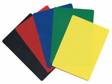 NEW 25 POKER SIZE 5 COLOR CUT CARD SET - Texas Hold'Em or Blackjack   FREE SHIP*