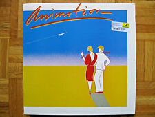 ANIMOTION~SELF TITLED~includes OBSESSION~SYNTH POP DANCE CLASSIC LP NM ORIGINAL