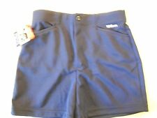 "NOS Vtg '80's Wilson Women's Coaches Shorts Size M 26""-28"" Navy Blue USA"