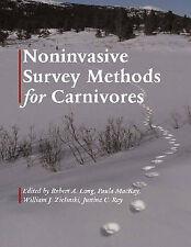 Noninvasive Survey Methods for Carnivores, , Very Good Book