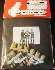Reheat Models 1:48 Luftwaffe Fighter Pilots WWII Resin Figures #RH091