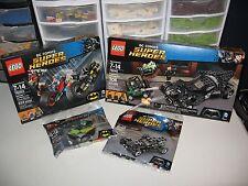 LEGO DC COMICS SUPER HEROS 76045,76053,30446 AND 30303   NEW