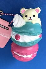 1 pc KORILAKKUMA STACKED MACARONS Squishy cell phone charm toy SOFT CUTE
