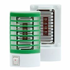 LED Electric Mosquito Fly Bug Insect Trap Night Lamp Killer Zapper US Plug