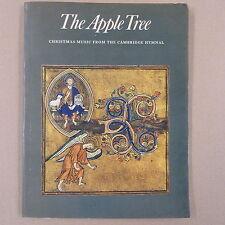 Partitura vocal el Apple Tree Navidad música desde el Cambridge Himnario
