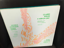 George Edwards/Claire Polin/Noel Zahler vinyl LP NM Opus One 1979