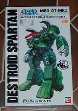 MACROSS ROBOTECH / Bandai 1/72 Spartan Model Kit / Macross 30th edition / NEW