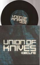 """Union Of Knives """"I Decline / Go Back To School"""" 7""""  Vinyl  Picture Sleeve"""