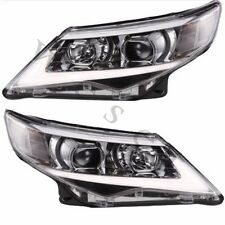 New LED Lightbar For 2012-2014 TOYOTA CAMRY Assembly Headlamps Projector DRL