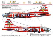 Hungarian Aero Decals 1/72 B-17F FLYING FORTRESS ASSEMBLY SHIP BIRMINGHAM BLITZ