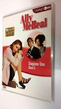Ally McBeal serie televisiva stagione 1 vol. 5 DVD 4 episodi dura 180 minuti