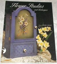 Flower Studies & Techniques Susan Abdella Tole Decorative Painting Book Vol. 4