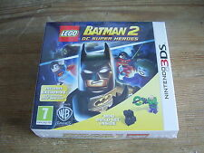 NINTENDO 3DS LEGO BATMAN 2 DC SUPER HEROES WITH FIGURE SET NEW SEALED
