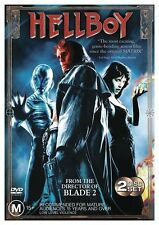 Hellboy DVD, 2 Disc Set, Region 4, LIKE NEW, Fast Post ..2495