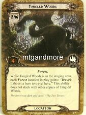 Lord of the Rings LCG  - 1x Tangled Woods  #051 - The Voice of Isengard
