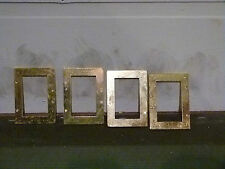 Schaller 4 String gold bass roller bridge shims