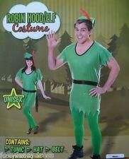 ROBIN HOOD PETER PAN ELF PIXIE BOOK WEEK MENS WOMENS FANCY DRESS COSTUME