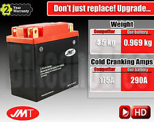 Upgrade to Lightweight & high performance LITHUM motorcycle battery - YTX14AH-BS