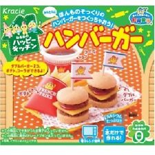 DIY Candy Popin Cookin Happy Kitchen Hamburger Kracie Japan snack sweets lolly