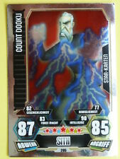 Force Attax Star Wars Serie 3 (2012), Count Dooku (205), Star-Karten