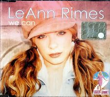 LeANN RIMES We Can CD Single 4 tracks NEW non sigillato