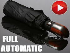 Tiross Automatic Open&Close Mens Umbrella Black New Shape SUPER STRONG QUALITY .