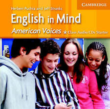 English in Mind Starter Class Audio CDs American Voices Edition, Stranks, Jeffre