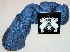 DENIM BLUE Galler INCA-ECO Organic COTTON Thick'NThin UTLRA-SOFT Art-Twist YARN