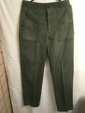 US ARMY AIR FORCE Original Patch Green Flight Uniform Pants Size 32X31