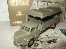 Corgi 73801 Berliot GLR8 French Militaire Bache Transport Truck in 1:50 Scale