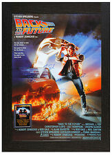 A3 framed poster retour vers le futur photo