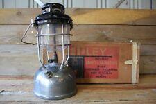 Vintage Boxed Tilley Lantern X246 A Pressure Kerosene Brass