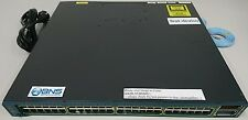★★★ Cisco 48x 10/100/1000 X2-based 10 Gigabit Ethernet ports 68-Gbps IPv6 Switch