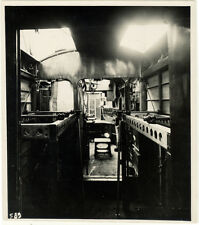 Photo Argentique Aviation Avion Plane Intérieur Farman Goliath F160 Vers 1930