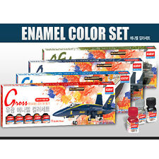 Academy Armored Fighting Enamel Paint 12 Colors Set for Plastic Model Kit #15906