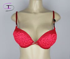 NWT Victoria's Secret BOMBSHELL PLUNGE BRA ADDS 2 CUP SIZES 34D   P066