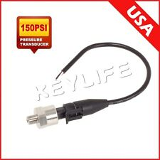 Pressure transducer/sender/sensor 150 psi stainless steel for oil,fuel,air,water