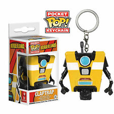 Funko Borderlands Pocket POP Claptrap Vinyl Figure Keychain NEW Toys Video Game