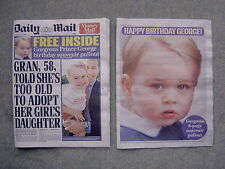 Daily Mail UK Newspaper 22 July 2015 - Royal Baby Prince George Photo Supplement