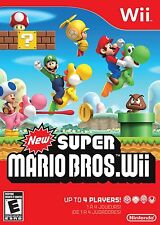 New Super Mario Bros. Wii (Nintendo Wii) Brand New