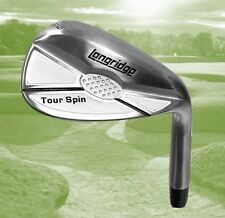 Longridge Tour Spin Stainless Steel 64 Degree Satin Chrome Golf Lob  Sand Wedge