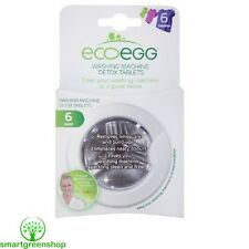 ecoegg Lavatrice Detox Tablets (6 pack) Ipoallergenico, Eco Friendly
