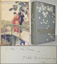 The Love of Azalea Onoto Watanna SIGNED Color Illust Gazo Foudji 1st Ed Japan