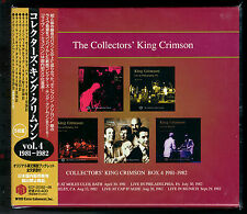 King Crimson, Collectors' King Crimson Box 4 (1982 - 1982) (Box Set 5 CD_Japan)