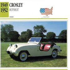 1949-52 CROSLEY HOTSHOT PICTURE CARD, 1991 (CINCINNATI REDS OWNER POWEL CROSLEY